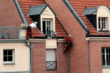 Dachreparaturen und Wartung